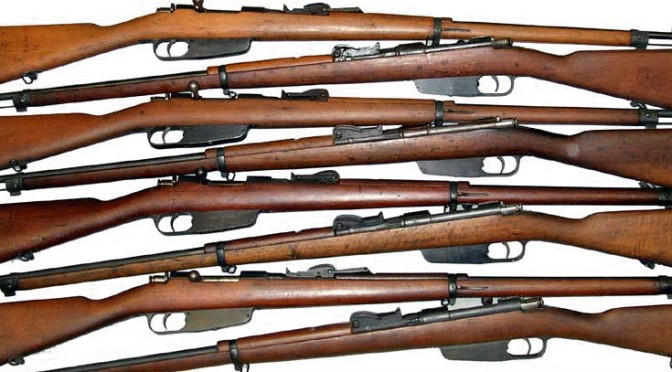Rifle, weapons, old ordinance