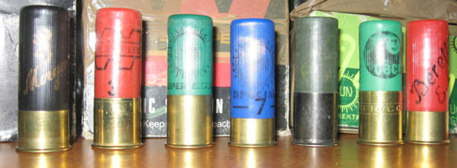hunting cartridges, hunters shotgun